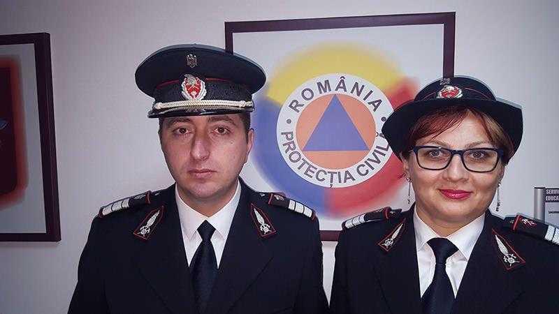 Avansări în grad la ISU Neamț cu ocazia Zilei Protecției Civile