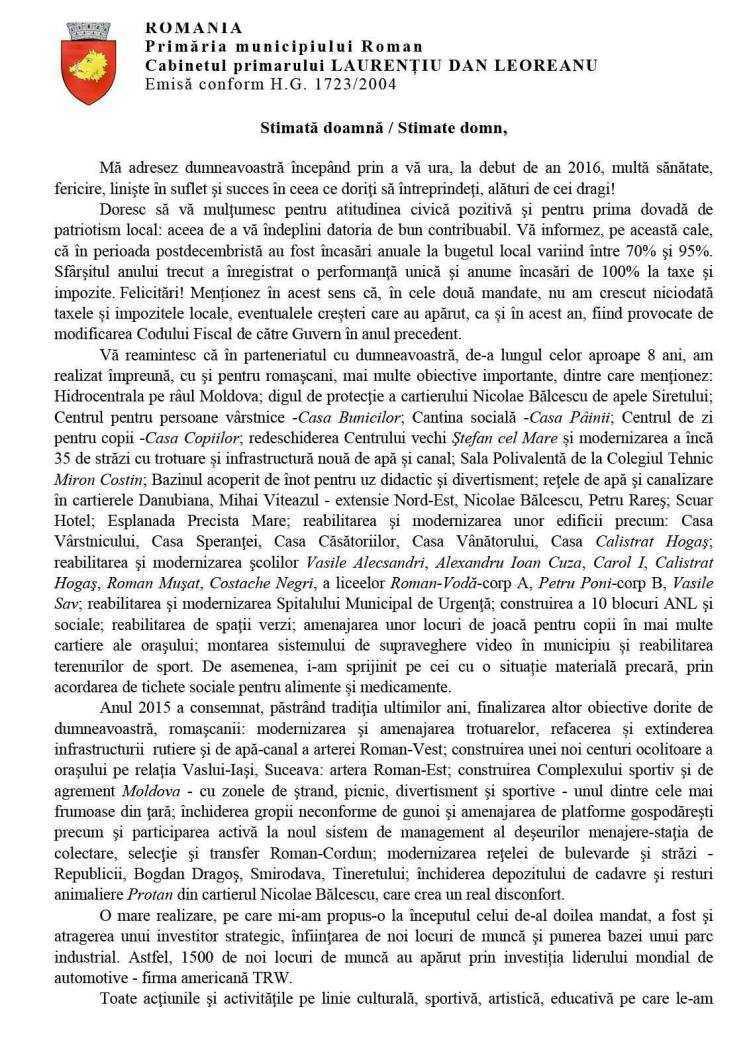 Scrisoare 1