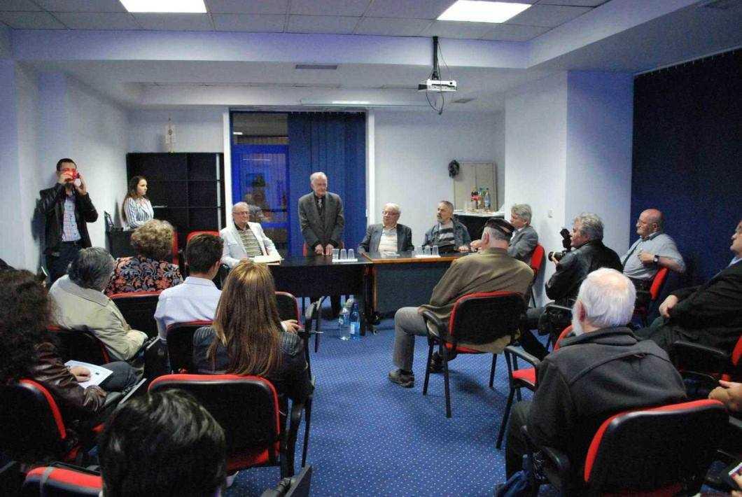 Gh AM Ciobanu lansare de carte Adrian Erbiceanu