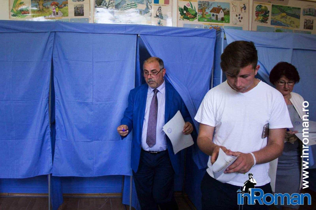 Sorin Cazan votare 8174