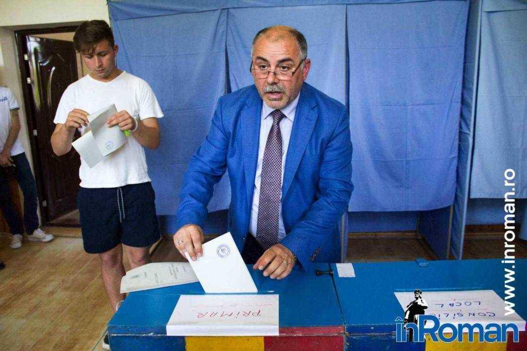 Sorin Cazan votare 8177