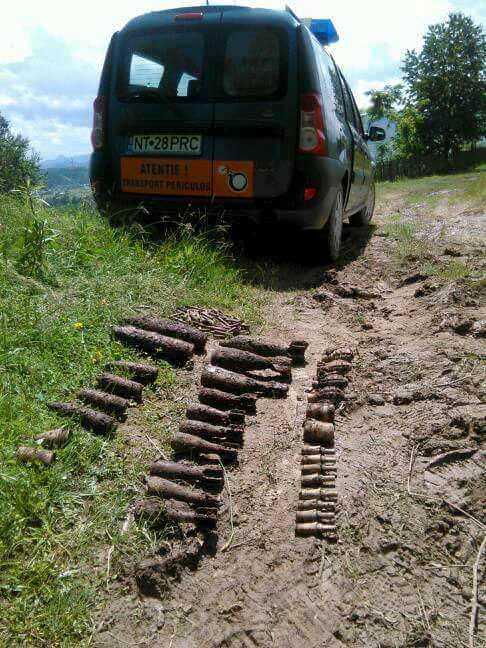 munitie neexplodata ISU 2