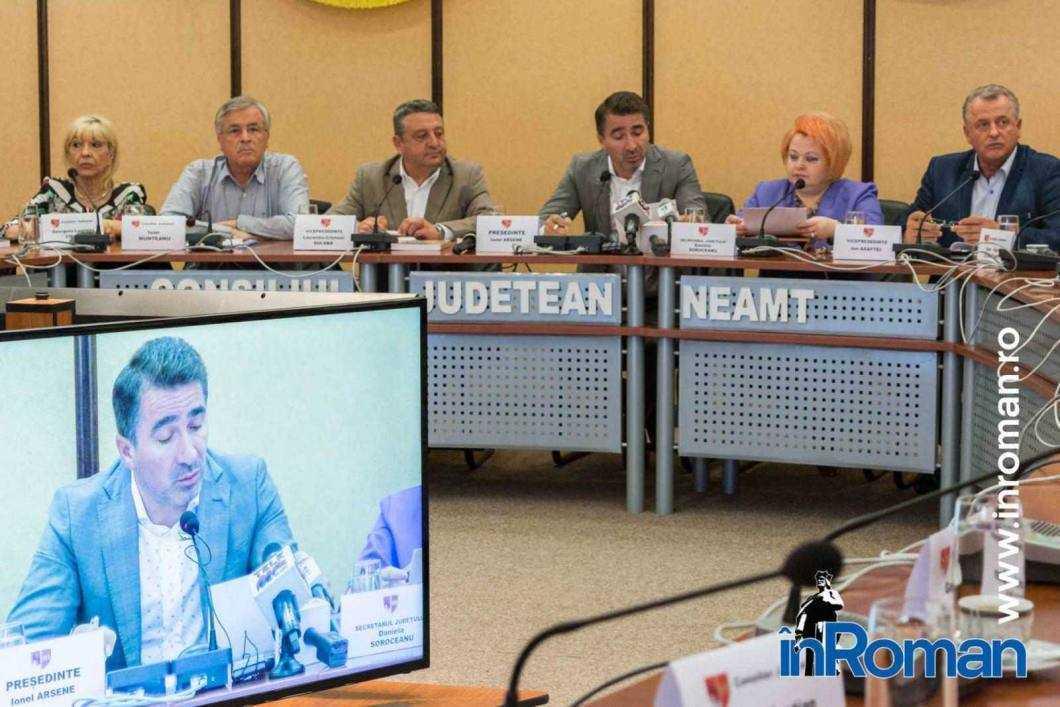 Ionel Arsene Consiliul Judetean Neamț