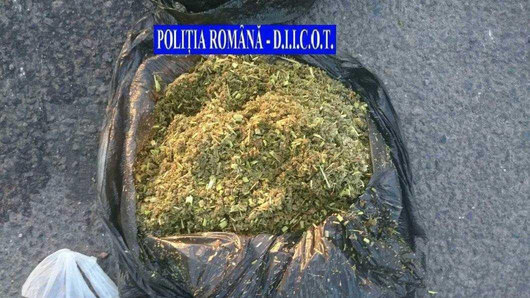 Traficanți de droguri prinși în Roman
