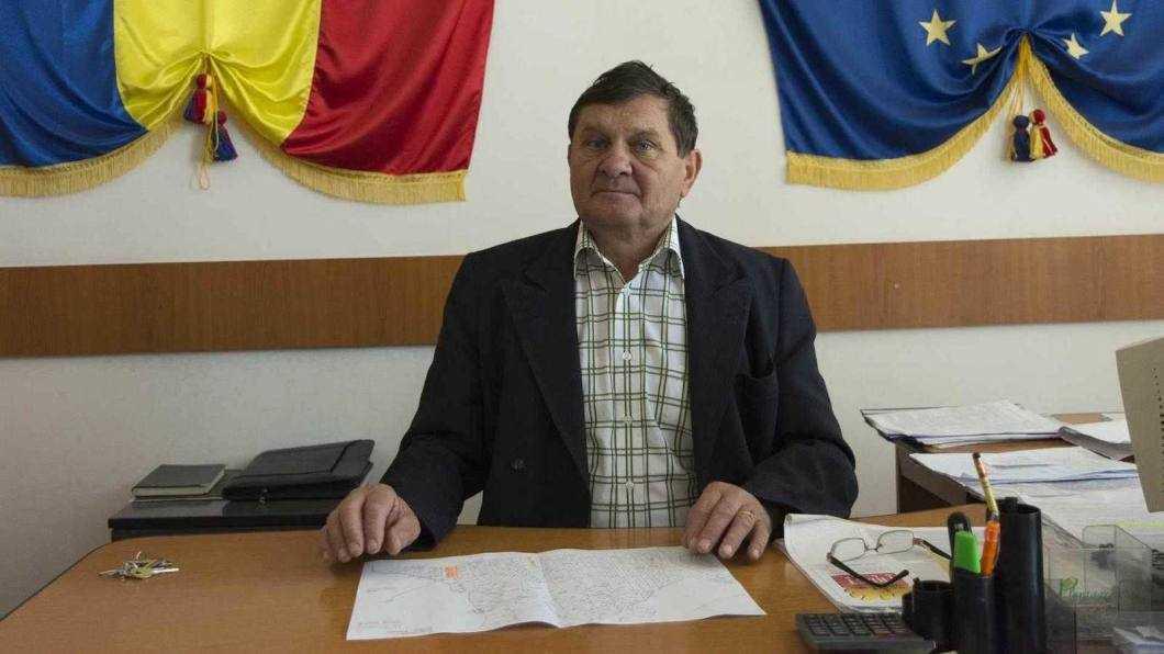 Emil Prisecaru, primarul comunei Bahna