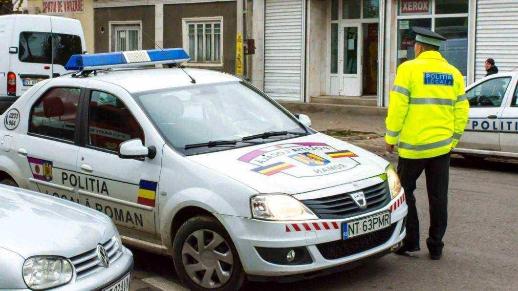 Tâlhar prins de polițiști locali
