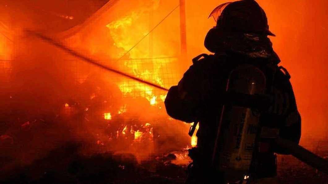 Incendiu în satul Simionești