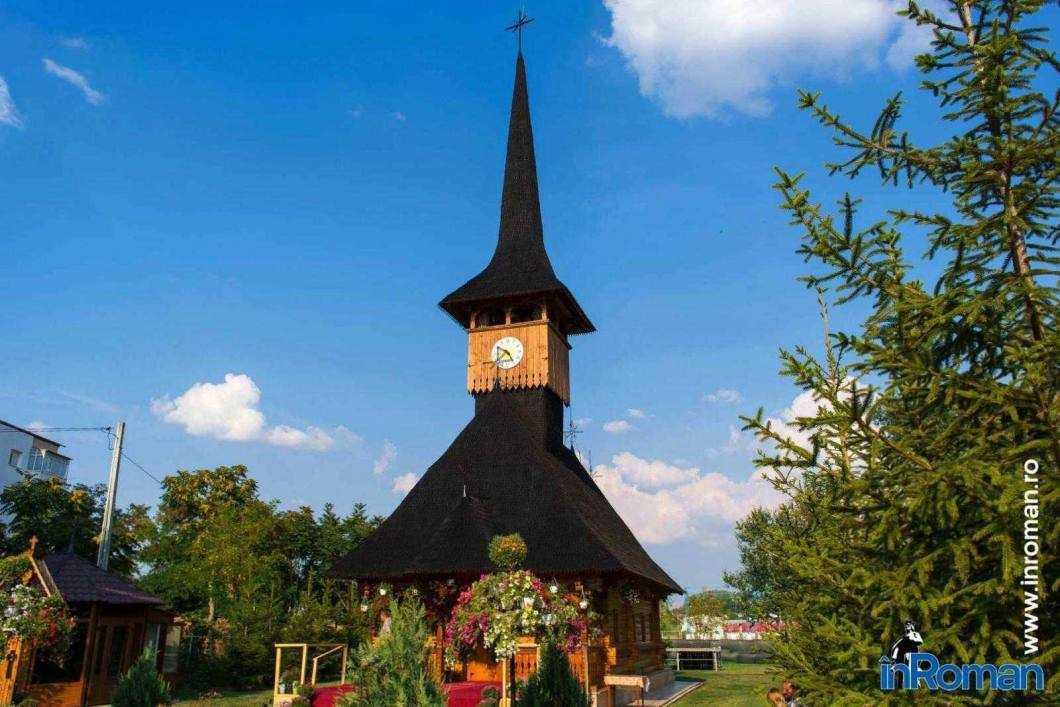 """Biserica de lemn Sf. Părinţi Ioachim şi Ana """"Bisericuța copiilor"""""""