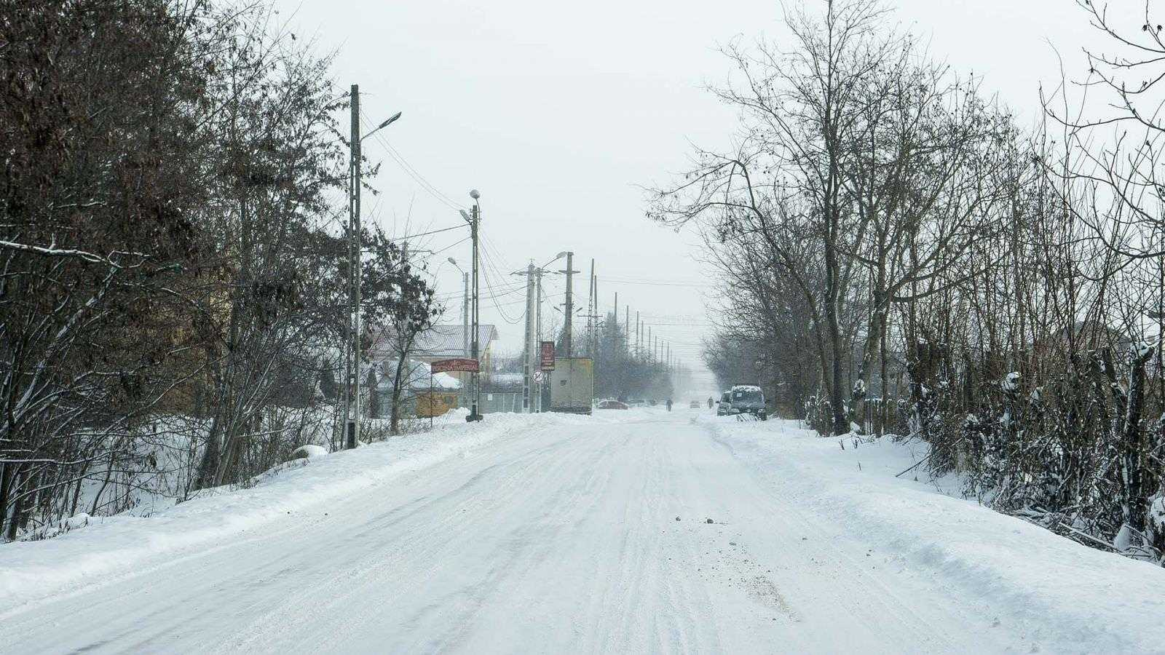 Situația în județul Neamț în prima zi cu ninsoare