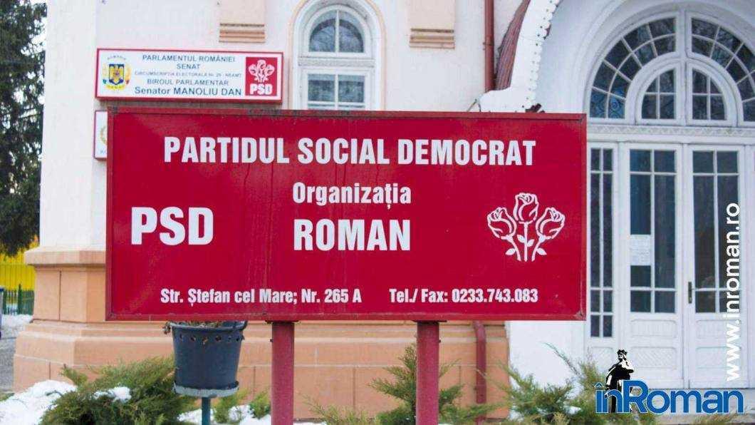 Biroul PSD Roman a votat pentru suspendarea din partid a celor șase consilieri locali