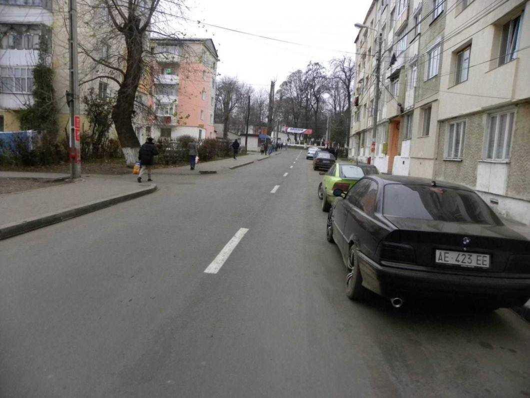 str Ecaterina Teodoroiu asfalt masini