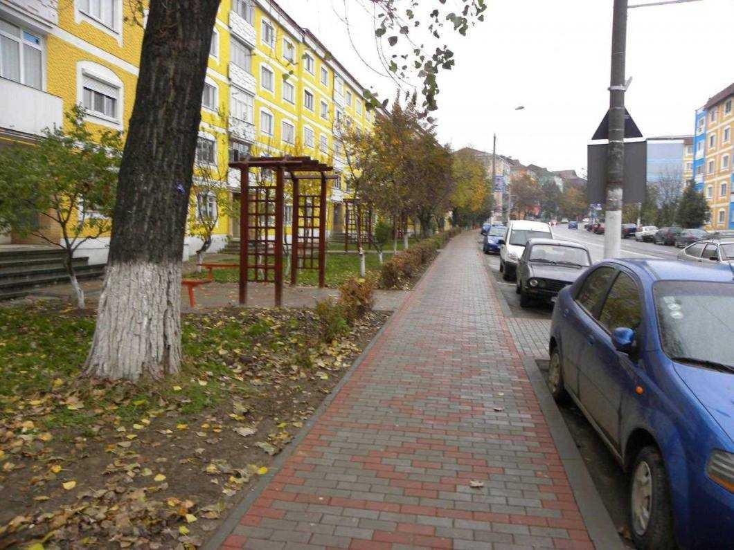 trotuar pavele