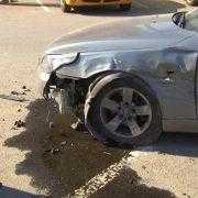 accident gara semafor doborat 2