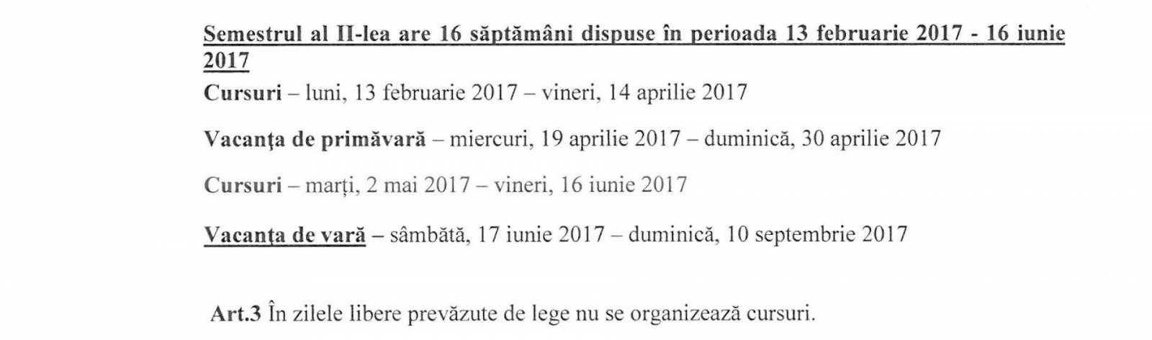 """Zi """"pierdută"""" din structura anului școlar de oficialii din Ministerul Educației 1"""