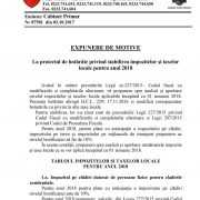 2017 10 09 expunere taxe locale 2018 1