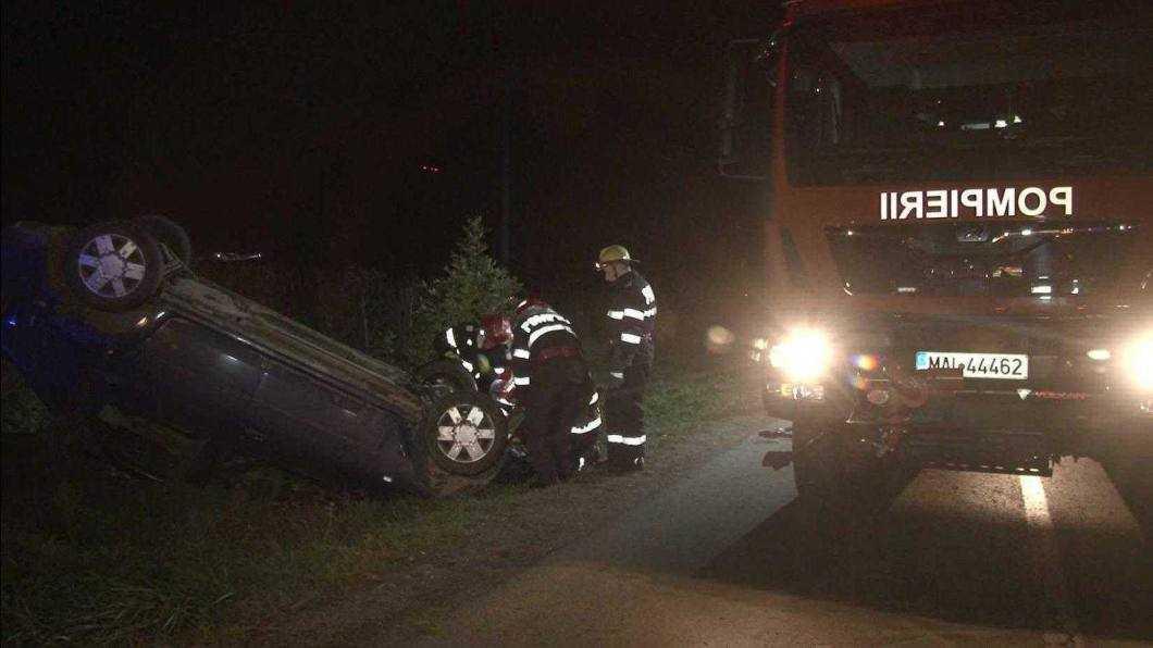 accident E85 intersectie cu Tamaseni 3