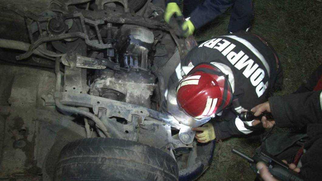 accident E85 intersectie cu Tamaseni 4