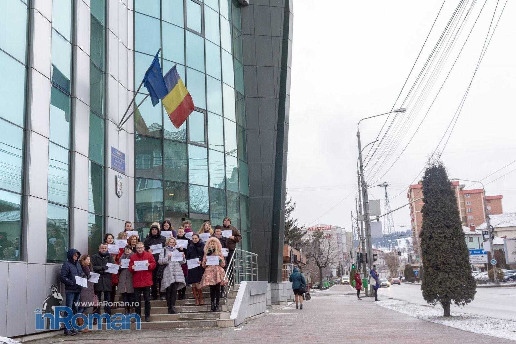 protest magistrati Piatra Neamt 7807