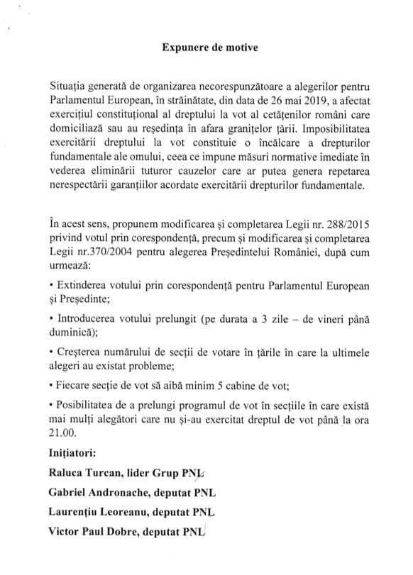 proiect lege vot diaspora 1