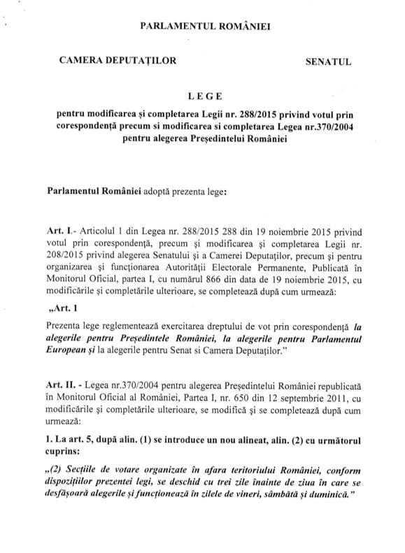 proiect lege vot diaspora 2