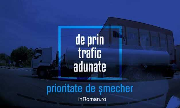Video: de prin trafic adunate (2). Prioritatea de șmecher