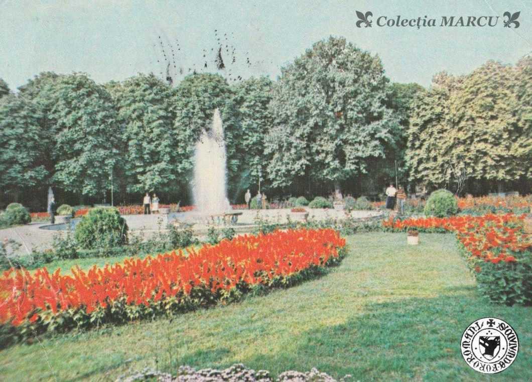 1980, Roman, vedere din parc (carte poștală ilustrată)
