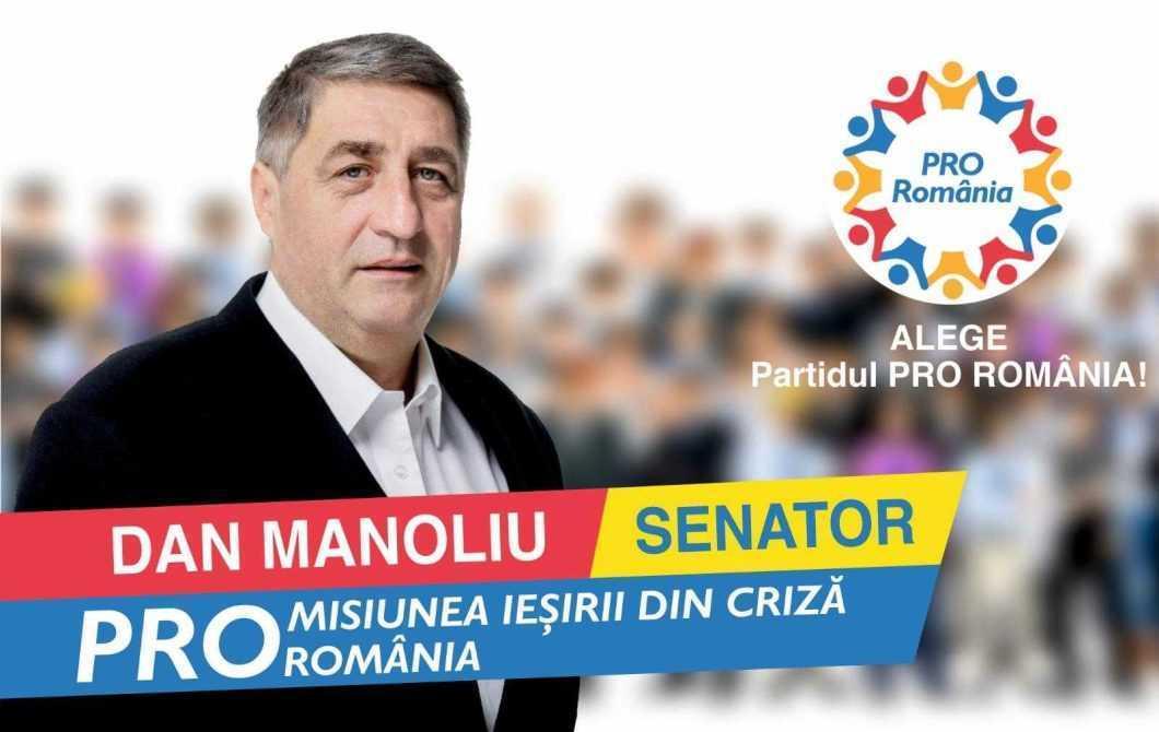 senator Dan Manoliu
