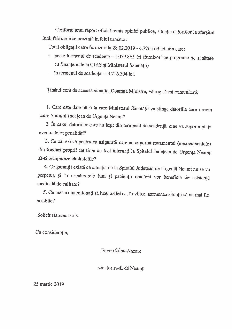 Interpelare senator Tapu Page 2