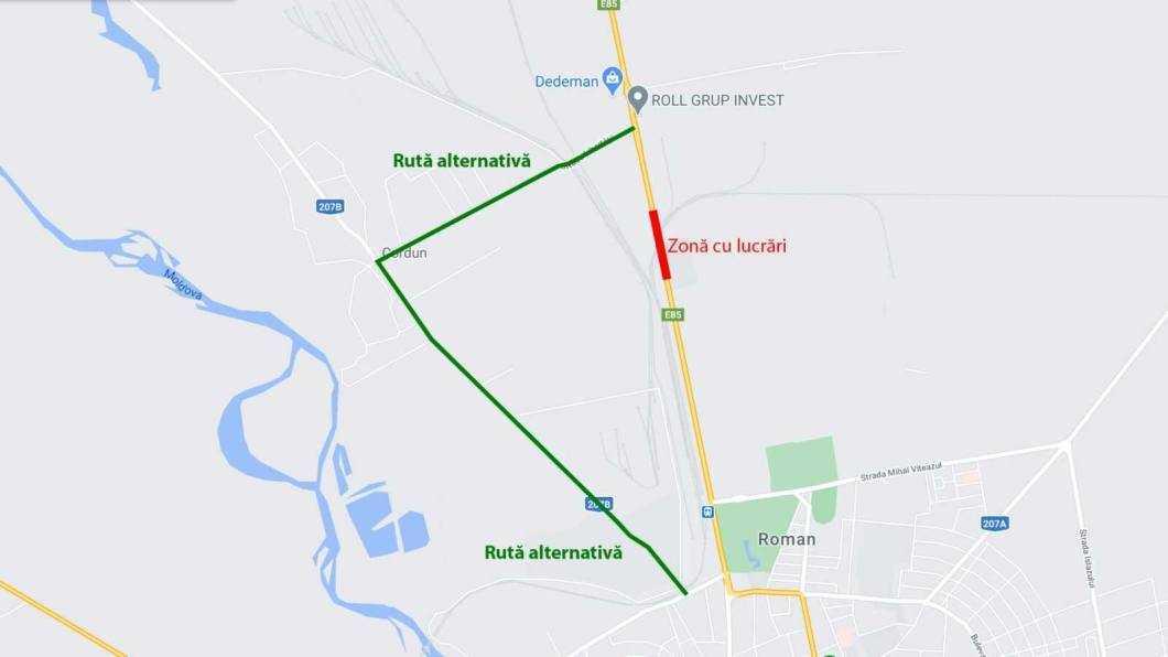 ruta alternativa