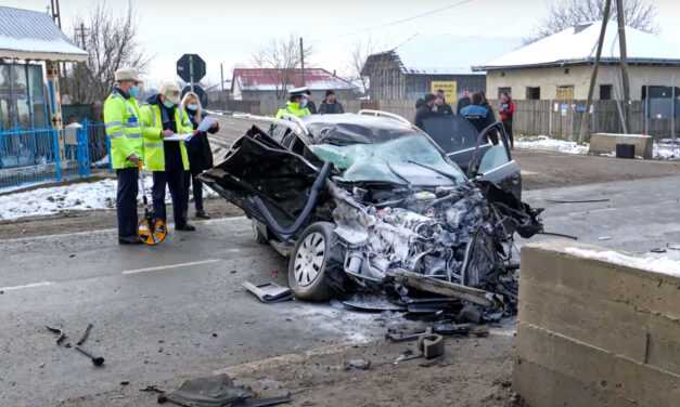 13 – zi cu două accidente grave la interval de aproximativ 4 ore